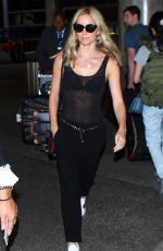 ANNABELLE WALLIS at Los Angeles International Airport 09/03/2016