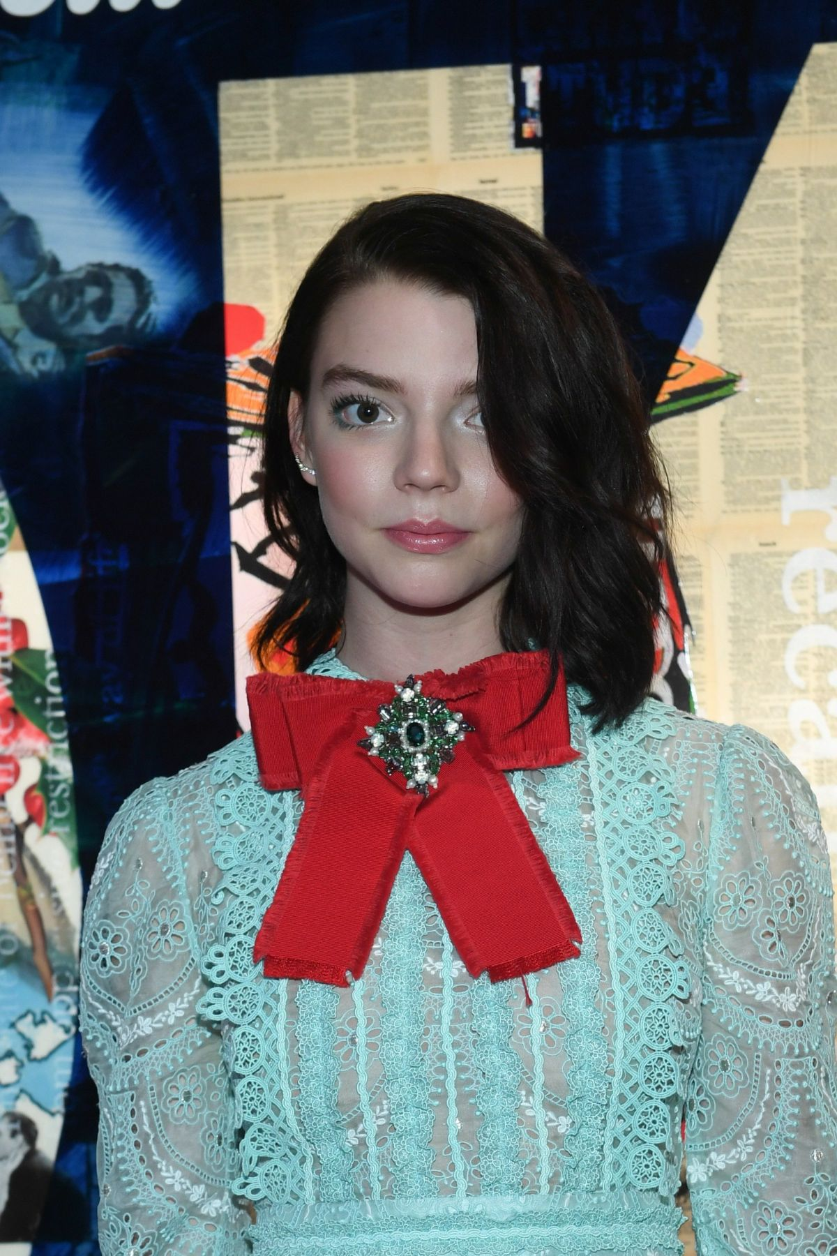 ANYA TAYLOR-JOY at W Magazine NKPR IT House x Producers Ball Studio at IT Lounge in Toronto 09/10/2016