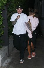 ARIANA GRANDE and Her Boyfriend Mac Miller Night Out in Los Angeles 09/01/2016