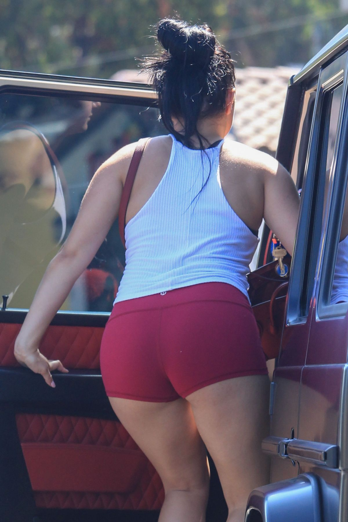 ARIEL WINTER in Tight Shorts Out in Studio City 09/14/2016