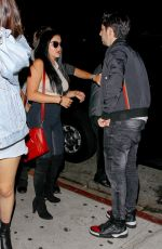 ARIEL WINTER in Tightd at Nice Guy in West Hollywood 09/10/2016