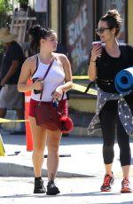ARIEL WINTER Leaves a Yoga Class in Studio City 09/14/2016