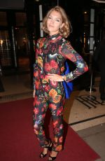 ARIZONA MUSE at Charlotte Olympia Spring/Summer 2017 Showcase in London 09/18/2016