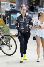 ASHLEY BENSON in Tights Out in Los Angeles 09/12/2016