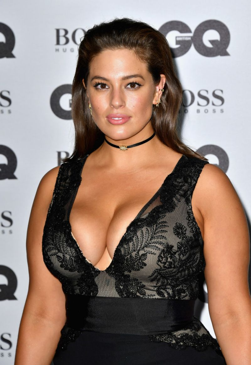 ASHLEY GRAHAM at GQ Men of the Year Awards 2016 in London 09/06/2016