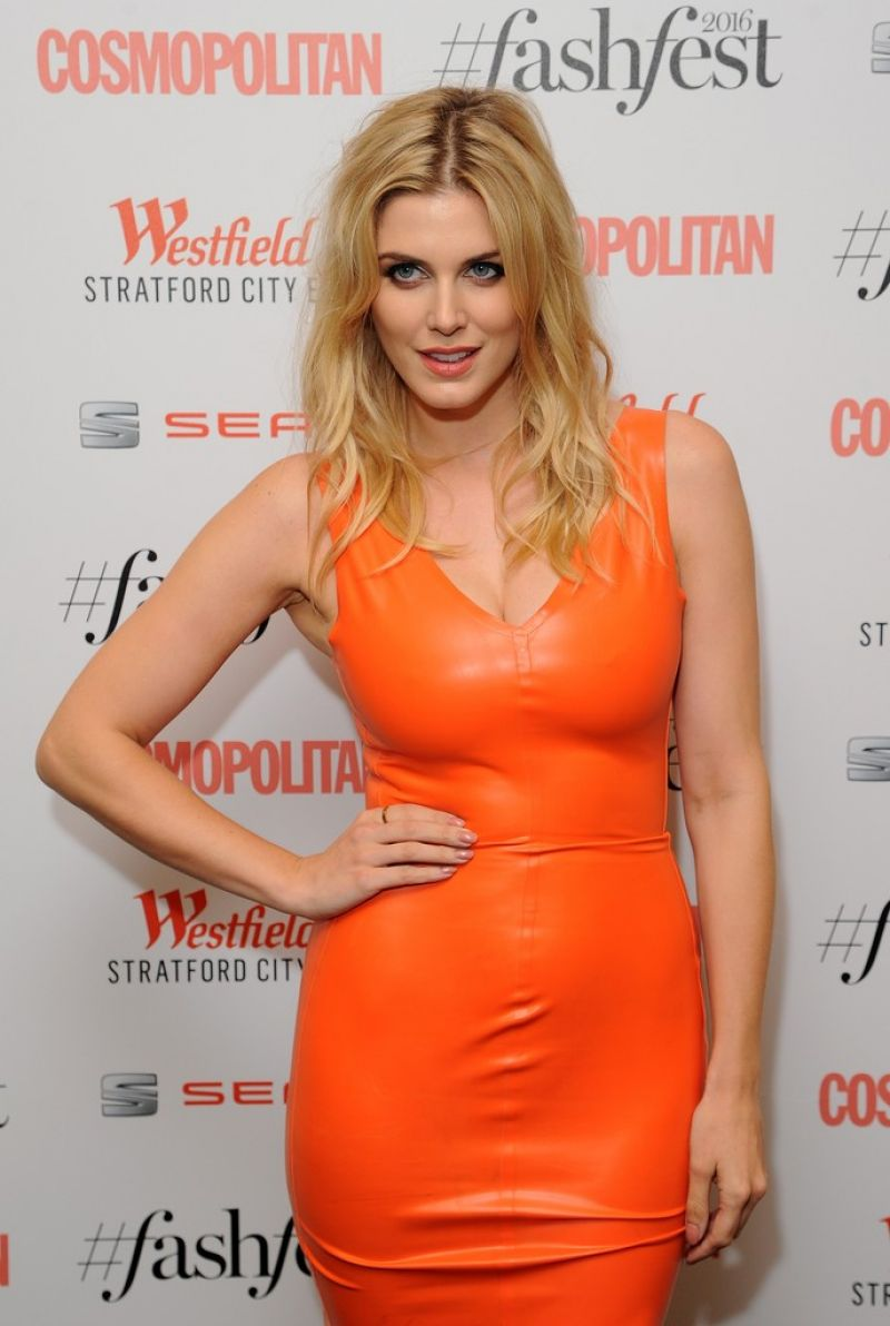 ASHLEY JAMES at Cosmopolitan #fashfest 2016 VIP Show and Party in London 09/15/2016