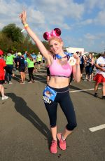 ASHLEY JAMES at Disneyland Paris Half Marathon Weekend 09/24/2016