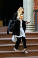 ASHLEY OLSEN Out and About in New York 08/31/2016