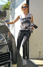 ASHLEY TISDALE Leaves a Gym in West Hollywood 09/28/2016