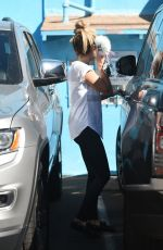 ASHLEY TISDALE Leaves a Pilates Class in Los Angeles 09/16/2016