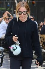 ASHLEY TISDALE Out for Lunch at Zinque in Los Angeles 09/11/2016
