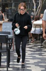 ASHLEY TISDALE Out for Lunch in West Hollywood 09/12/2016