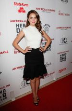 BAILEE MADISON at 6th Annual American Humane Association Hero Dog Awards in Beverly Hills 09/10/2016