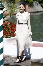 BARBARA PALVIN Arrives at Hotel Excelsior in Venice 09/01/2016