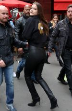 BARBARA PALVIN in Leather at New L