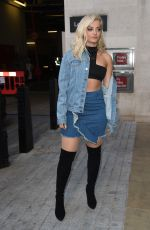BEBE REXHA Out and About in London 09/28/2016