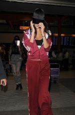 BELLA HADID Arrives at Heathrow Airport in London 09/16/2016
