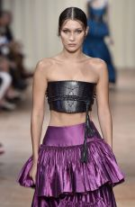 BELLA HADID at Aberta Ferretti Spring/Summer 2017 Fashion Show