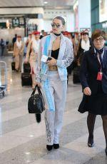 BELLA HADID at Airport in Milan 09/25/2016