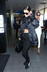 BELLA HADID at LAX Airport in Los Angeles 09/04/2016