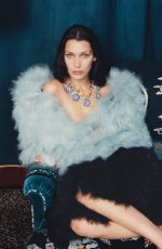 BELLA HADID in W Magazine, October 2016 Issue