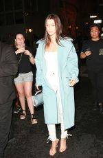 BELLA HADID Leaves Ralph Lauren Fashion Show at NYFW in New York 09/14/2016