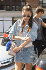 BELLA HADID Out and About in New York 09/12/2016