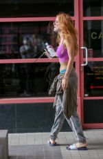 BELLA THORNE Leaves Yoga Class in West Hollywood 09/13/2016