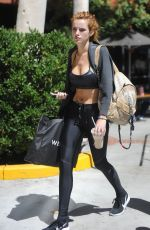 BELLA THORNE Out and About in Beverly Hills 09/06/2016