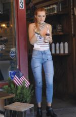 BELLA THORNE Out in Beverly Hills 09/06/2016