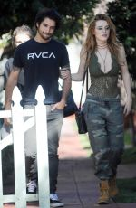 BELLA THORNE Out in West Hollywood 09/16/2016