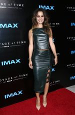 BERENICE MARLOHE at 'Voyage of Time: The IMAX Expereince' Premiere in Los Angeles 09/28/2016