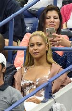 BEYONCE at 2016 US Open in New York, 09/01/2016