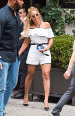 BEYONCE Leaves Nomad Hotel in New York 09/06/2016