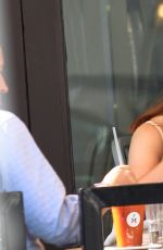 BONNIE WRIGHT Out for Lunch at M Cafe in Beverly Hills 09/22/2016