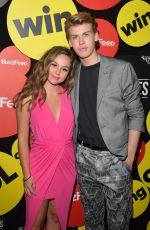 BREC BASSINGER at The Buzzies Buzzfeed's Pre-emmy Party in West Hollywood 09/14/2016