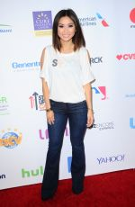 BRENDA SONG at 5th Biennial Stand Up To Cancer in Los Angeles 09/09/2016