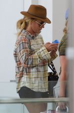 BRITNEY SPEARS at Newark Airport in New York 08/29/2016