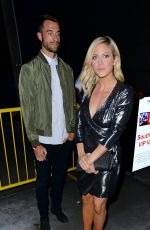 BRITTANY SNOW at Drake's Concert at The Staple Center in Los Angeles 09/07/2016
