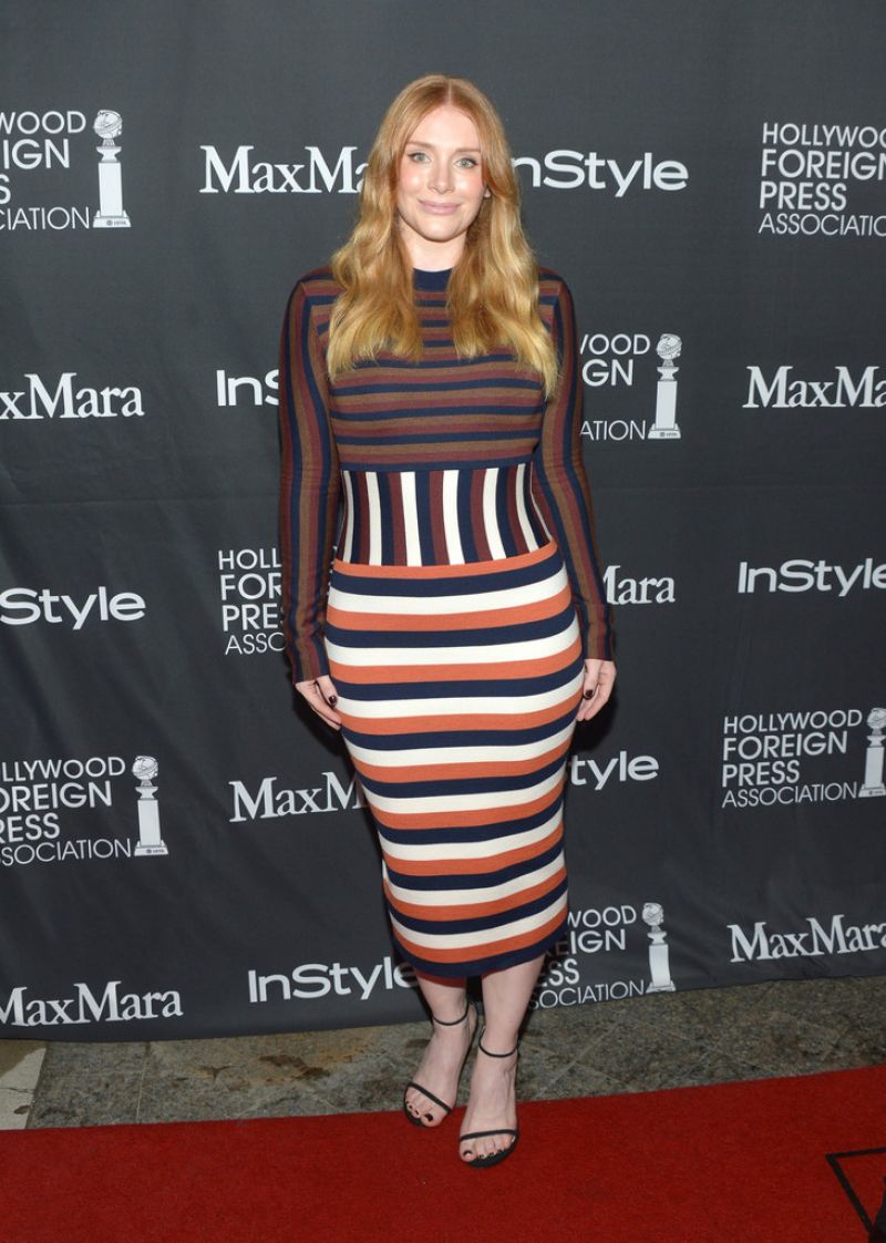 BRYCE DALLAS HOWARD at tiff/instyle/hfpa Party at 2016 Toronto International Film Festival 09/10/2016