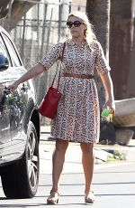 BUSY PHILIPPS Out in Los Angeles 09/20/2016