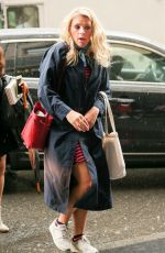 BUSY PHILIPPS Out in New York 09/19/2016