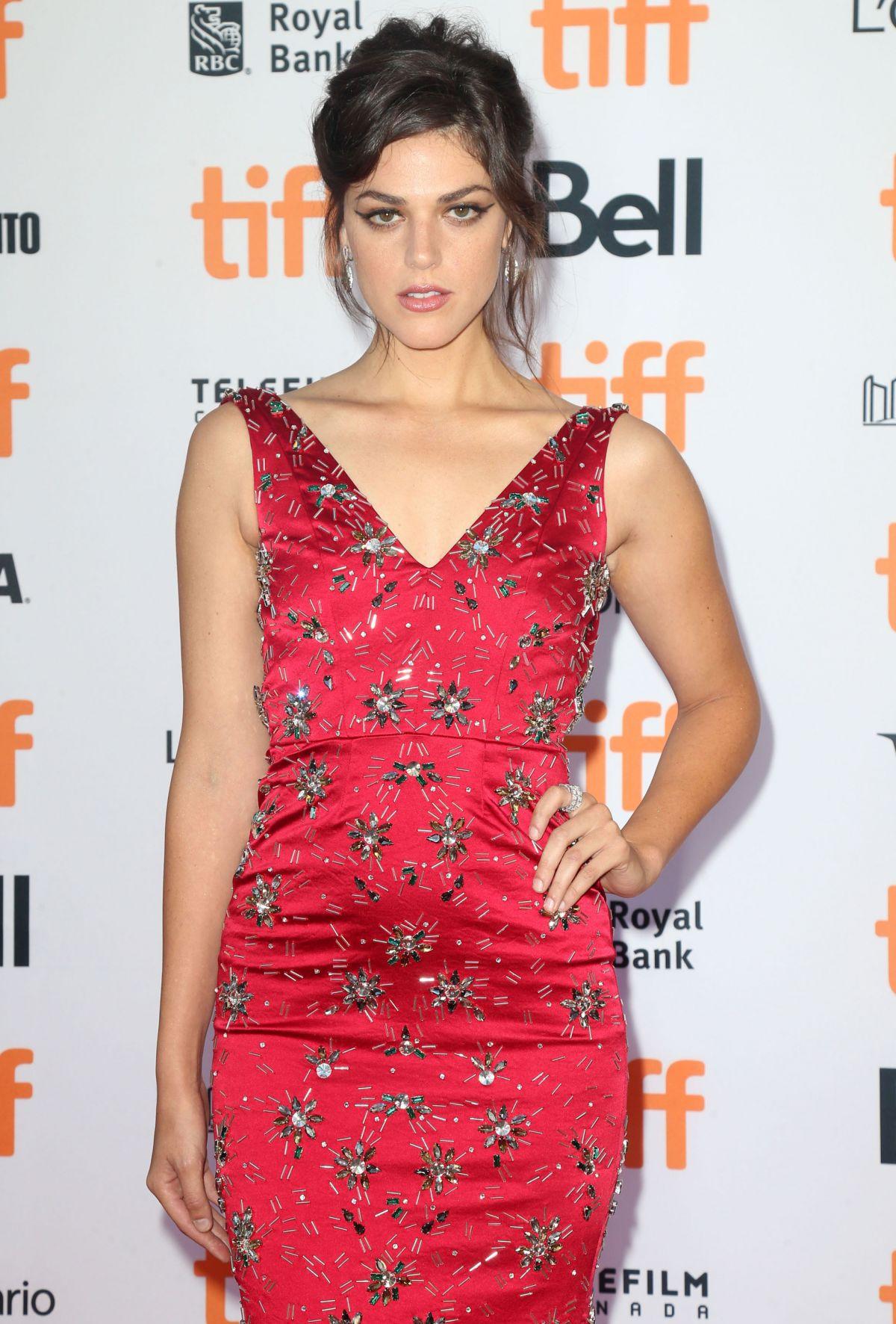 CALLIE HERNANDEZ at 'La La Land' Premiere at Toronto International Film Festival 09/12/2016