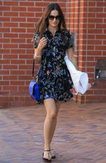 CAMILLA BELLE Out and About in Beverly Hills 09/28/2016