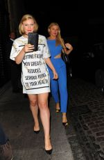 CAMILLA KERSLAKE and HOFIT GOLA at Chiltern Firehouse in London 09/07/2016