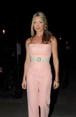 CAPRICE BOURRET at Oliver Peoples Store Launch Party in London 09/14/2016
