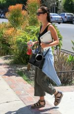 CARA SANTANA Out and About in Beverly Hills 08/29/2016