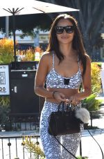 CARA SANTANA Out and About in West Hollywood 09/06/2016