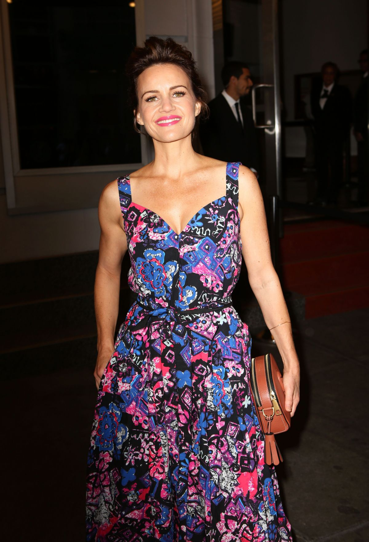 CARLA GUGINO at Marc Jacobs Fashion Show at New York Fashion Week 09/15/2016