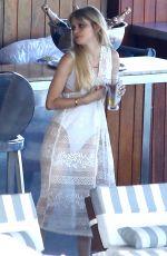 CARLSON YOUNG at Her Hotel in Rio De Janeiro 08/29/2016